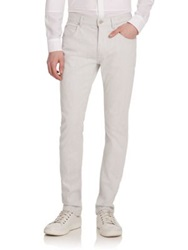Helmut Lang Slim Fit Jeans White