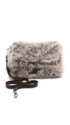 Elizabeth And James Jack Convertible Clutch Steel Grey