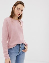 Minimum Round Neck Jumper Pink