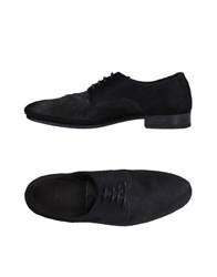N.D.C. Made By Hand Footwear Lace Up Shoes Black