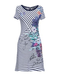 Desigual Short Dresses Dark Blue