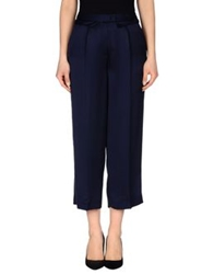 Uniqueness Casual Pants Dark Blue