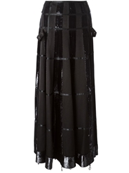 Christian Dior Vintage Panelled Long Skirt