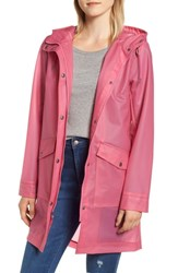 Levi's Water Repellent Hooded Parka Translucent Pink