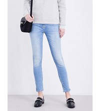 Claudie Pierlot Patricia Skinny Mid Rise Jeans