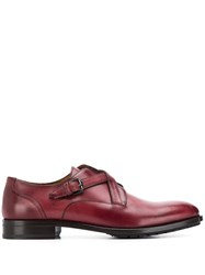 Etro Cross Strap Lace Up Shoes Brown