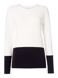 Linea Ribbed Jumper Ivory