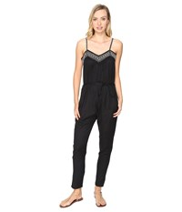 Roxy Celestial Sun Jumpsuit Anthracite Women's Jumpsuit And Rompers One Piece Pewter