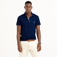 J.Crew Wallace And Barnes Indigo Polo Shirt