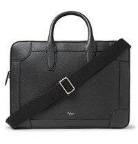 Mulberry Belgrave Full Grain Leather Briefcase Black