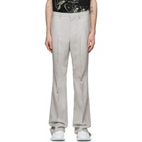 Givenchy Off White Bootcut Tailored Trousers