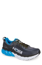 Hoka One One Arahi 2 Running Shoe Black Charcoal Grey