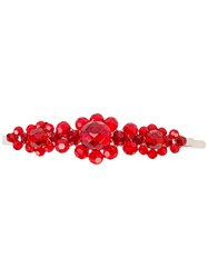 Simone Rocha Embellished Headhand Red