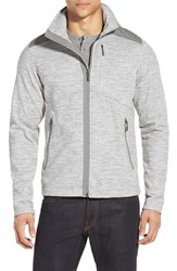 Men's Nau 'Randygoat' Zip Front Fleece Jacket Caviar Heather