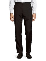 Paul Smith Solid Tuxedo Trousers Black