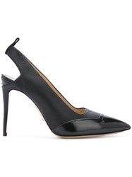 Paul Andrew Brera Pumps Calf Leather Leather Black