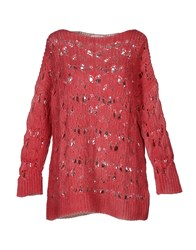 Gentryportofino Knitwear Long Sleeve Jumpers Women Fuchsia