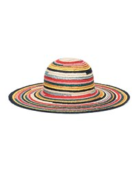 Eugenia Kim Bunny Multicolored Wide Brim Straw Sun Hat