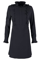 Rue De Femme Valentina Summer Dress Navy Dark Blue