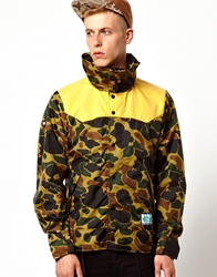 Trainerspotter Yosemity Jacket In Camo Print