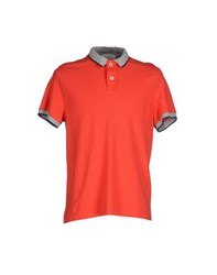Della Ciana Topwear Polo Shirts Men Red