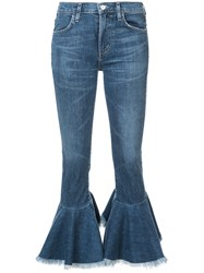 Citizens Of Humanity Cropped Jeans Women Cotton Polyurethane 27 Blue