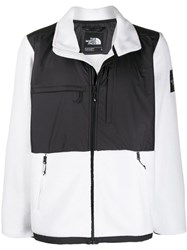 The North Face Denali Zip Up Jacket White