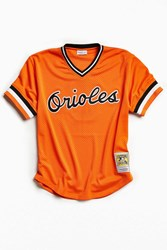 Mitchell And Ness Baltimore Orioles Jersey Orange