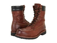 Frye Dakota Crepe Tall Dark Brown Tumbled Full Grain Men's Lace Up Boots