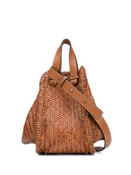Loewe Hammok Medium Tote Bag Brown