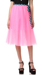 Marc Jacobs Tulle Skirt Pink