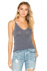 Stateside V Neck Tank Gray