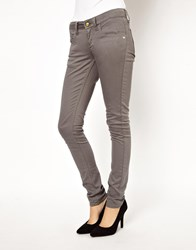 Monkee Genes Classic Skinny In Grey Charcoal Black