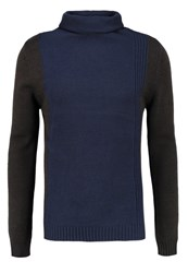 Petrol Industries Jumper Deep Navy Dark Blue