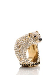 Kate Spade Cold Comforts Polar Bear Ring
