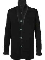 Label Under Construction Wool Blazer Black