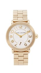 Marc Jacobs New Classic Tbd Watch Gold White