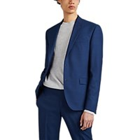 Barneys New York Worsted Wool Sportcoat Navy