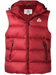 Pyrenex Spoutnic Padded Gilet Red