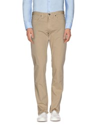 Henry Cotton's Trousers Casual Trousers Men Beige