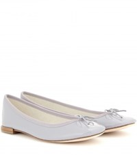Repetto Cendrillon Patent Leather Ballerinas Grey