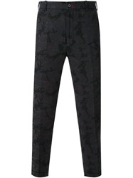 Guild Prime Camouflage Tailored Trousers Black