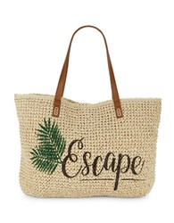 Straw Studios Beach Tote Escape