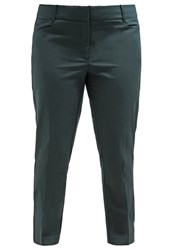 Eloquii Kady Trousers Black Forest Dark Green