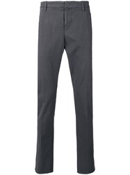 Dondup Classic Tailored Trousers Grey