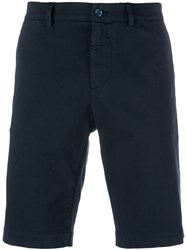 Dolce And Gabbana Fitted Shorts Blue