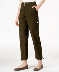Styleandco. Style Co. Petite Convertible Cargo Pants Only At Macy's Evening Olive