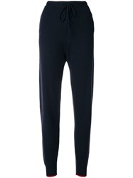 Chinti And Parker Hello Kitty Patch Track Trousers Blue