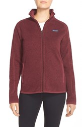 Women's Patagonia 'Better Sweater' Jacket Oxblood Red