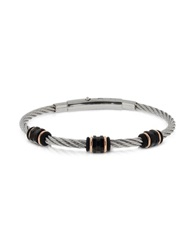 Zoppini Manly Stainless Steel Men's Bracelet Silver